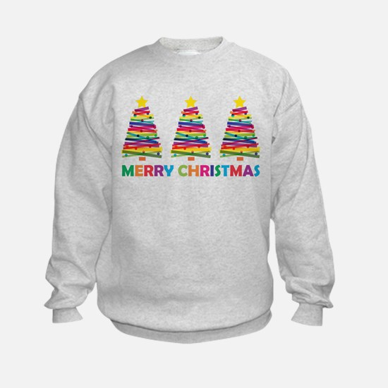 Colorful Christmas Tree Jumpers