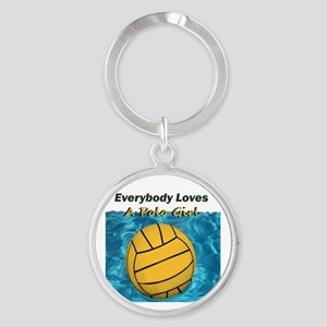 Everybody Loves a Polo Girl Keychains