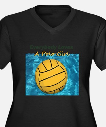 Everybody Loves a Polo Girl Plus Size T-Shirt