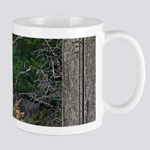 Old Cabin Window Bald Eagle Mug