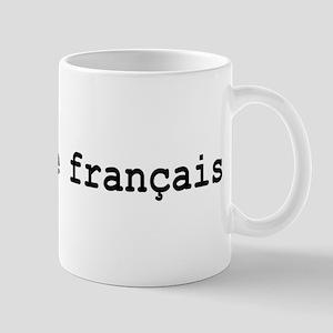 I Speak French Large Mugs