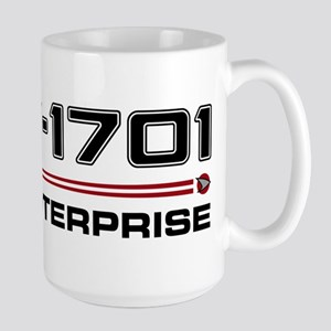 USS Enterprise Refit Dark Mug