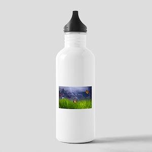 Butterfly Art Stainless Water Bottle 1.0L
