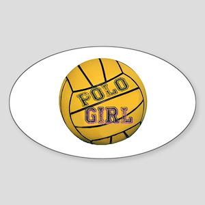 Polo Girl Sticker