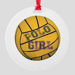 Polo Girl Ornament