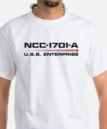Enterprise-A White T-Shirt