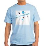 Retro Dots Groomsman Light T-Shirt