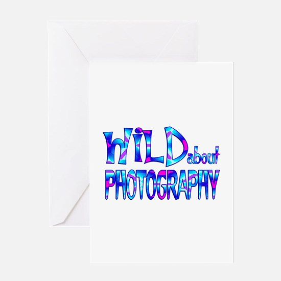 Wild About Photography Greeting Cards