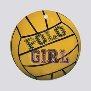 Polo Girls Ornament (Round)