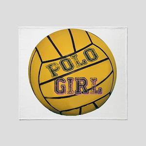 Polo Girls Throw Blanket