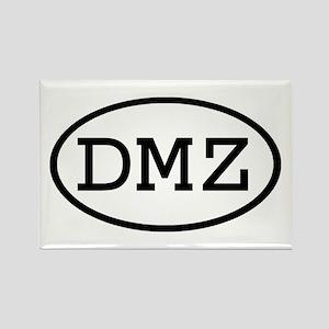 DMZ Oval Rectangle Magnet