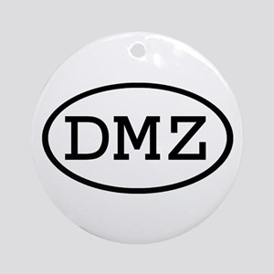 DMZ Oval Ornament (Round)