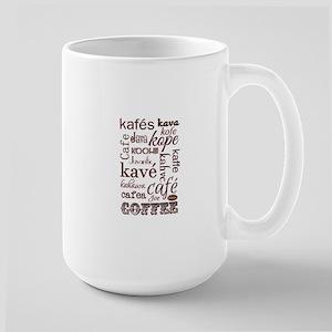 the language of coffee Mugs