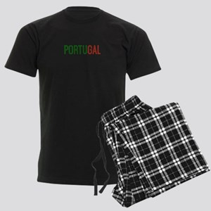 Portugal logo Men's Dark Pajamas
