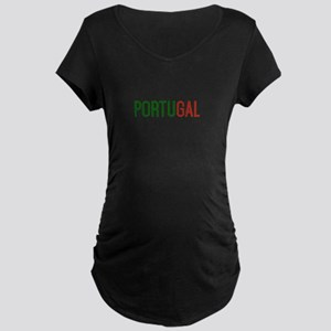 Portugal logo Maternity T-Shirt