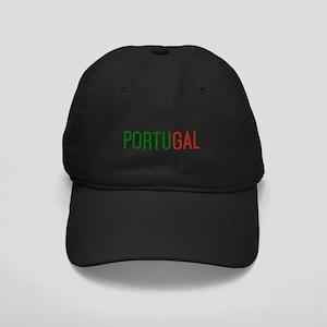 Portugal logo Black Cap