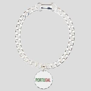 Portugal logo Charm Bracelet, One Charm
