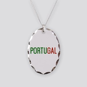 Portugal logo Necklace Oval Charm