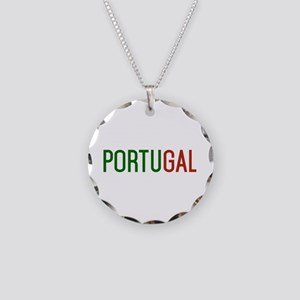 Portugal logo Necklace Circle Charm