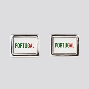 Portugal logo Rectangular Cufflinks