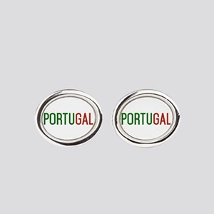 Portugal logo Oval Cufflinks