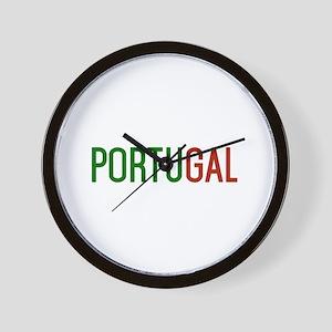 Portugal logo Wall Clock