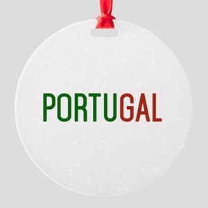Portugal logo Round Ornament
