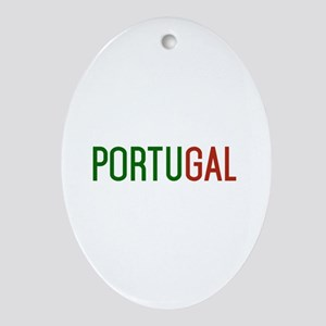 Portugal logo Ornament (Oval)