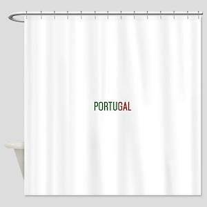 Portugal logo Shower Curtain