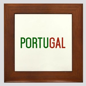 Portugal logo Framed Tile