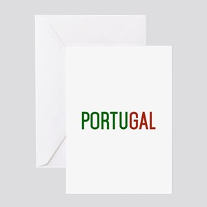 Portugal logo Greeting Cards