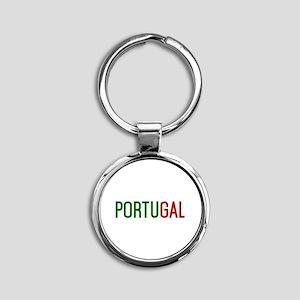 Portugal logo Keychains