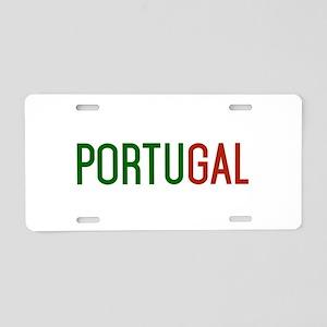 Portugal logo Aluminum License Plate