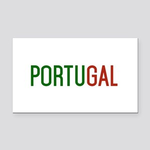 Portugal logo Rectangle Car Magnet