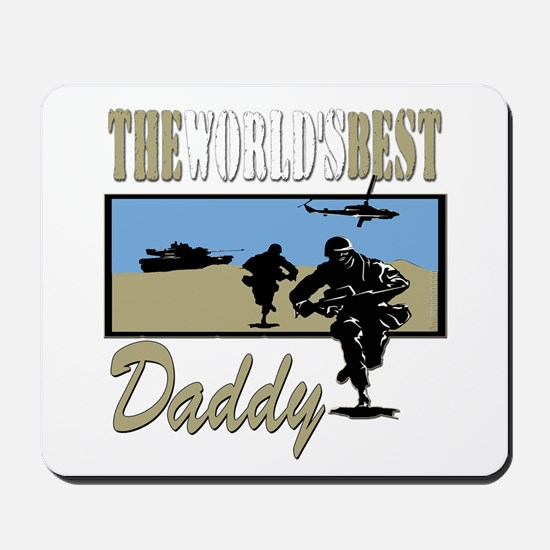 Best Military Daddy copy.png Mousepad