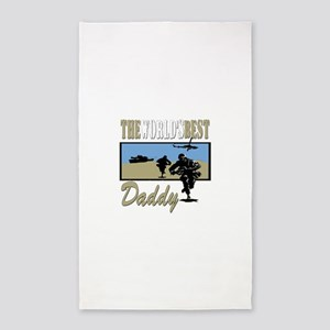Best Military Daddy copy Area Rug