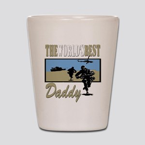 Best Military Daddy copy Shot Glass