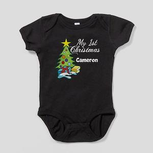 1st Christmas Baby Bodysuit