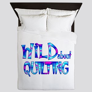 Wild About Quilting Queen Duvet
