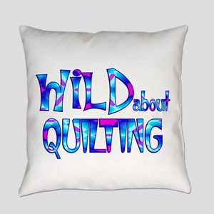 Wild About Quilting Everyday Pillow