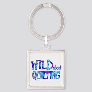 Wild About Quilting Keychains