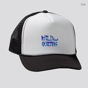 Wild About Quilting Kids Trucker hat