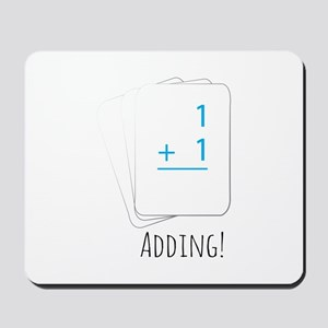 Adding Flashcards Mousepad
