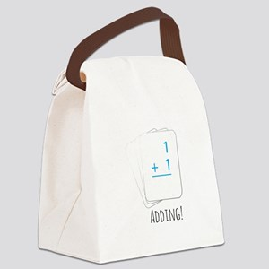 Adding Flashcards Canvas Lunch Bag