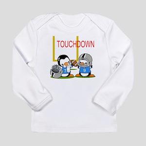 Football Penguins Infant Long Sleeve T-Shirt