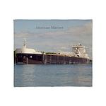 American Mariner Throw Blanket
