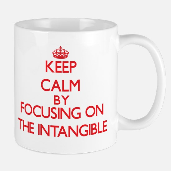 Keep Calm by focusing on The Intangible Mugs