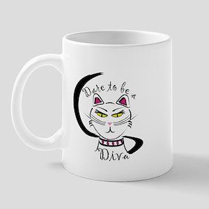 Dare to be a Diva Mug