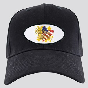 God Bless America Black Cap