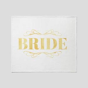 Bridal Party Throw Blanket